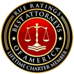 Best Attorneys of America badge - Lifetime Charter Member